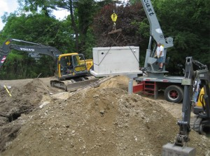 Mounded Septic Construction